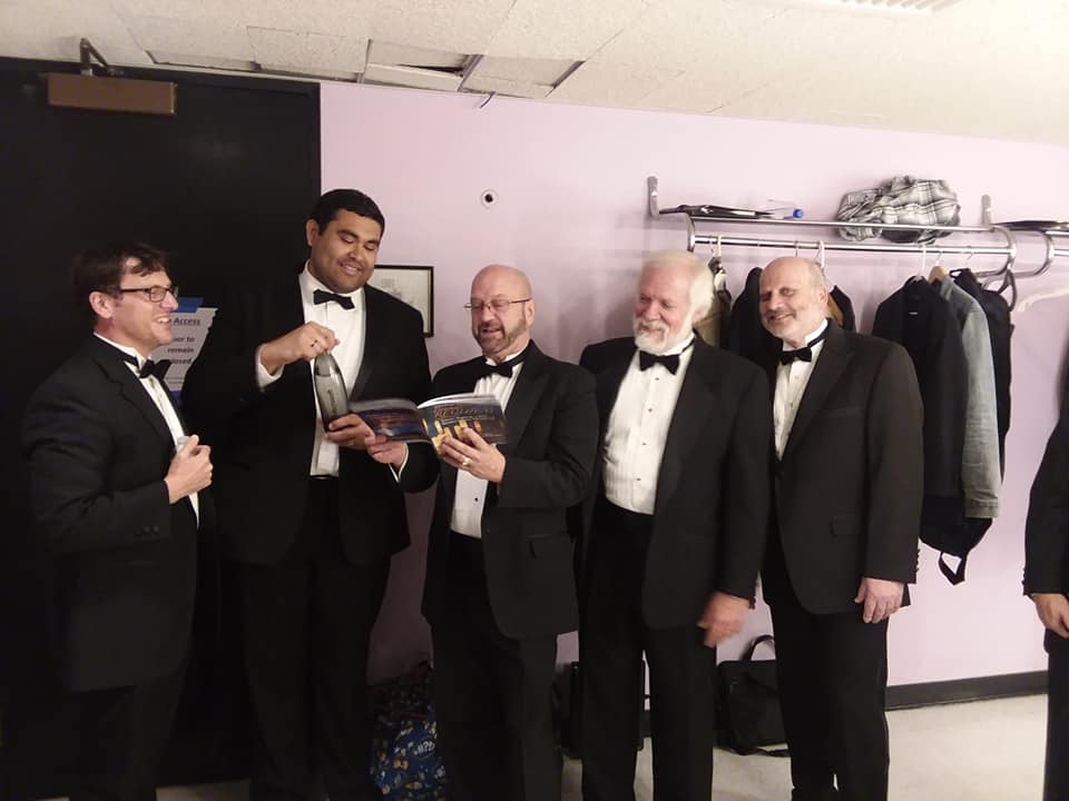 Camerata Behind the Scenes: In the Green Room